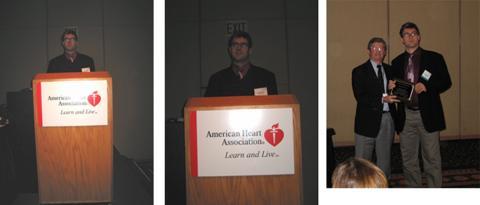 Andreas's Oral Presentation and Merck Award