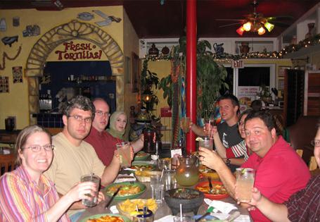 Lab Dinner at Guadalajara Grill