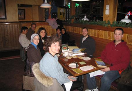 Sigmund Lab Holiday Lunch
